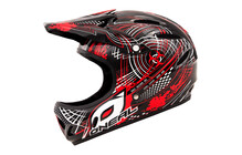 O'Neal Backflip Fidlock DH Helmet Biohazard black/red